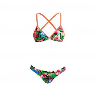 Funkita Tropic rocket Tri top bikini set women