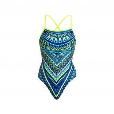 Funkita Ice queen strapped in bathing suit women