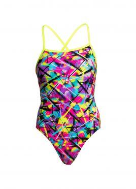 Funkita Spray on strapped in bathing suit women