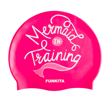 Funkita Silicone swimming cap Mermaid in training