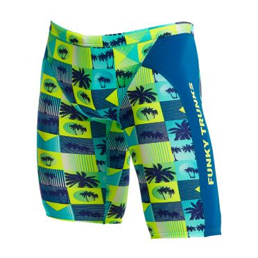 Funky Trunks Pop Tropo Training jammer swimming