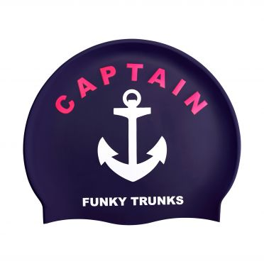 Funky Trunks Silicone swimming cap Captain Funky afd206f102