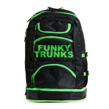 Funky Trunks Elite squad backpack Lime light