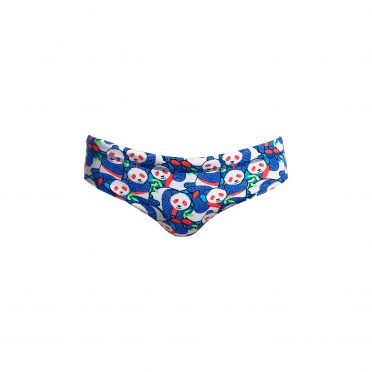 Funky Trunks Pandamania Classic brief swimming men