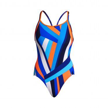 Funkita Scaffolded diamond back bathingsuit
