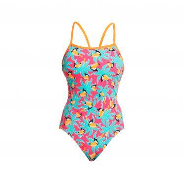 Funkita Toucan Tango single strap bathing suit women