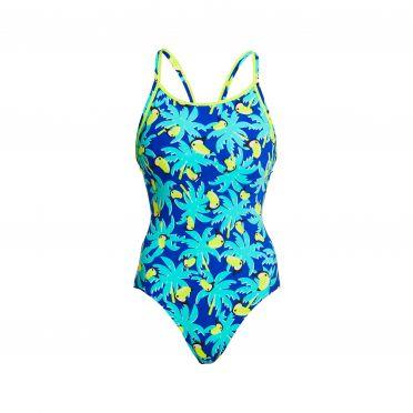 Funkita Bird Brain Eco diamond back bathing suit women