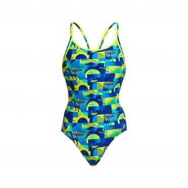 Funkita Magnum PI diamond back bathing suit women