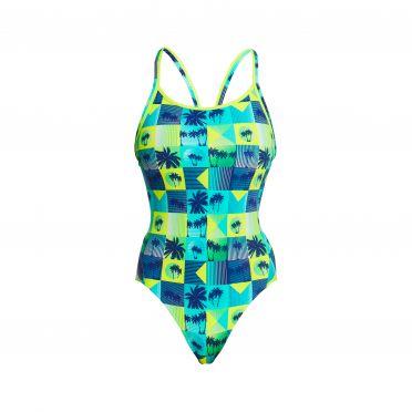 Funkita Pop Tropo diamond back bathing suit women
