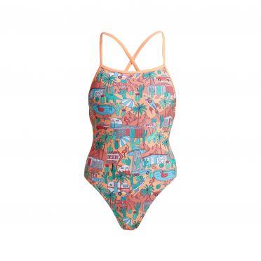 Funkita Burning Man strapped in bathing suit ladies