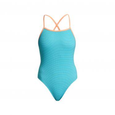 Funkita Mint Magic tie me tight bathing suit women