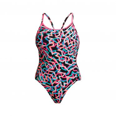 Funkita Live Streamer diamond back bathing suit women