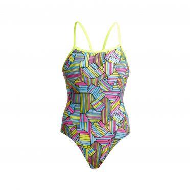 Funkita Hot Property single strap bathing suit women