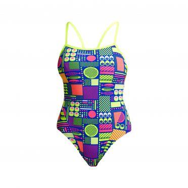 Funkita Packed Lunch single strap bathing suit women