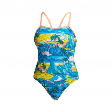Funkita Summer Bay single strap bathing suit women