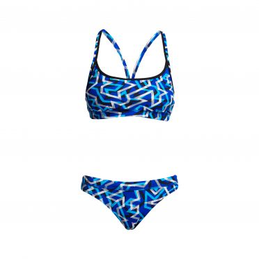 Funkita Ticker Tape bikini set women