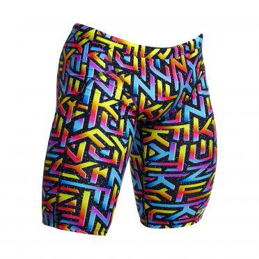 Funky Trunks Brand Galaxy training jammer swimming men