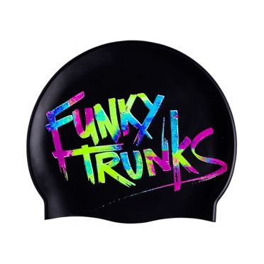 Funky Trunks Silicone swimming cap Trunk Tag