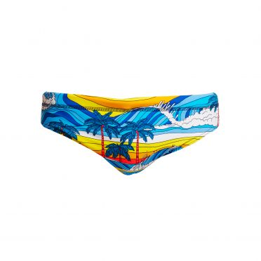 Funky Trunks Beach Bum Classic brief swimming men