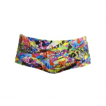 Funky Trunks Fossil Fuel classic trunk swimming men