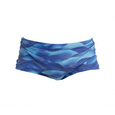 Funky Trunks Cold Current plain front Trunk swimming men