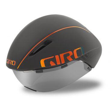 Giro Aerohead mips cycling helmet matt grey / firechrome