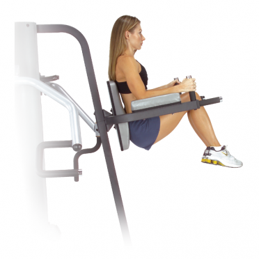 Body Solid Vertical Knee Raise and Dip Station for G9S (GKR9)