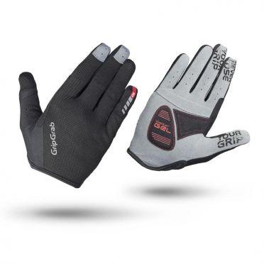 GripGrab Shark cycling gloves black