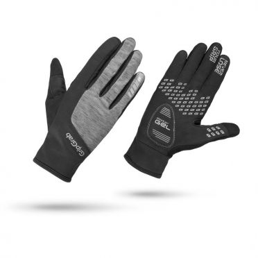 GripGrab Women's hurricane cycling gloves black/gray women