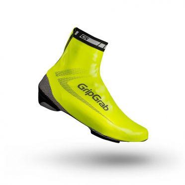 GripGrab RaceAqua hi-vis overshoe yellow