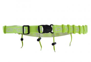 Orca Rabe belt with gel loops yellow