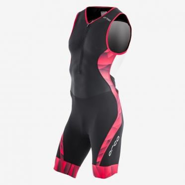 Orca 226 Kompress race trisuit sleeveless black/red men