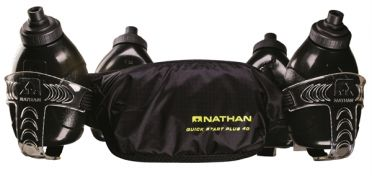 Nathan QuickStart plus 40 hydration belt black