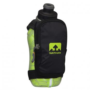 Nathan SpeedShot plus insulated hand bottle green/black