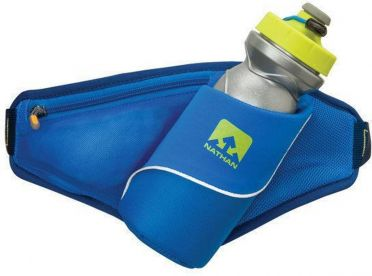 Nathan Triangle hydration belt blue