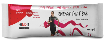 Hiddit Energy fruitbar Cherries 12x33g