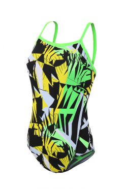 Zone3 High-Jazz 2.0 Strap back swimsuit green women