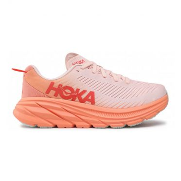 Hoka One One Rincon 3 running shoes light pink women