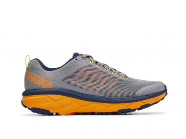 Hoka One One Challenger ATR 5 running shoes grey/orange men