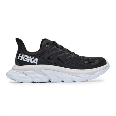 Hoka One One Clifton 7 Edge running shoes black/white men