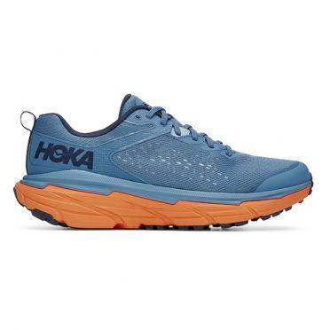 Hoka One One Challenger ATR 6 running shoes blue/orange men