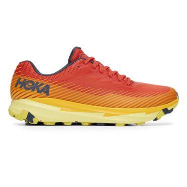 Hoka One One Torrent 2 running shoes red/yellow men