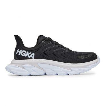Hoka One One Clifton 7 Edge running shoes black/white men