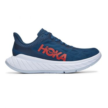 Hoka One One Carbon X 2 running shoes dark blue women