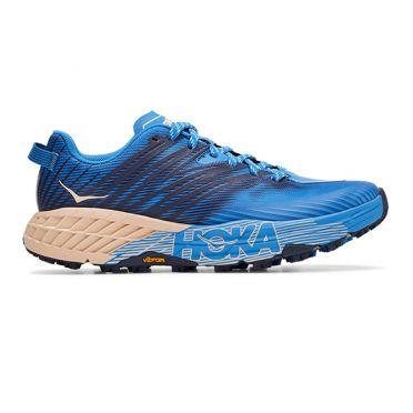Hoka One One Speedgoat 4 trail running shoes blue woman