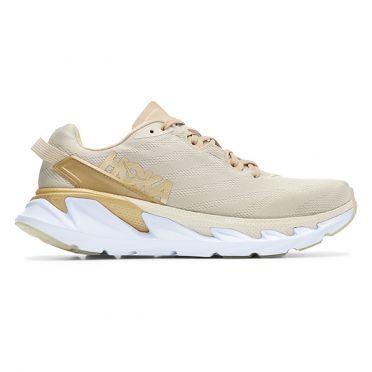 Hoka One One Elevon 2 running shoes beige women