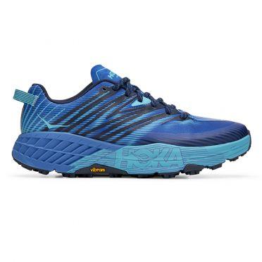 Hoka One One Speedgoat 4 trail running shoes blue men