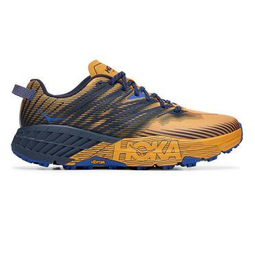 Hoka One One Speedgoat 4 trail running shoes Orange men