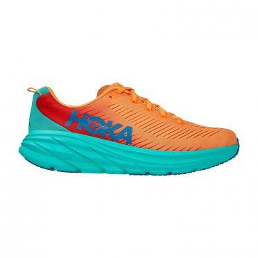 Hoka One One Rincon 3 running shoes blue/orange men