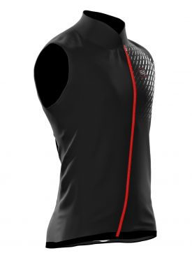 Compressport hurricane v2 running vest black unisex